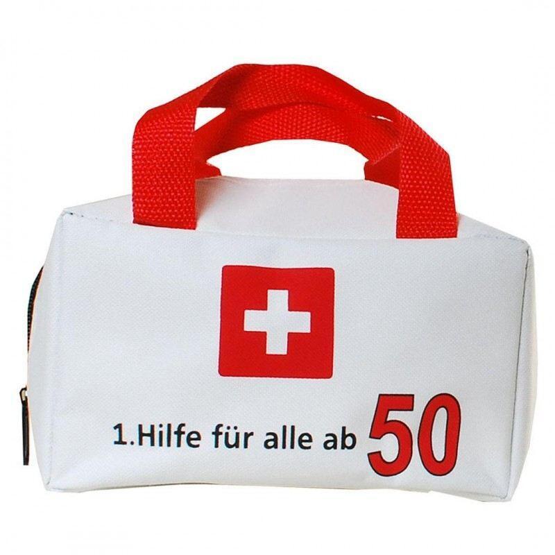 Tasche 1. Hilfe für alle ab 50 Geldgeschenk 50. Geburtstag