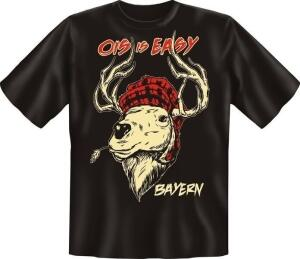 T-Shirt OIS IS EASY Hirsch